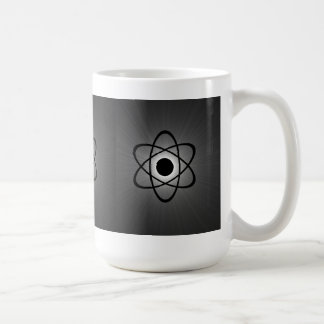 Nerdy Atomic Mug Gray