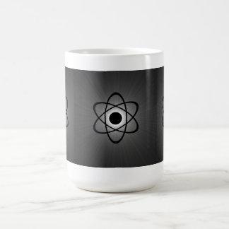 Nerdy Atomic Mug, Gray Coffee Mug
