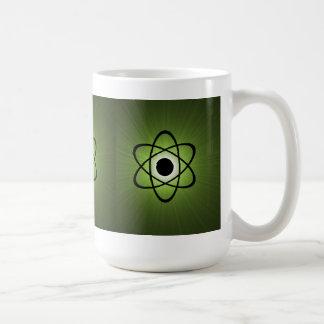 Nerdy Atomic Mug Green