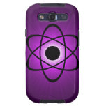 Nerdy Atomic Samsung Galaxy S3 Case, Purple