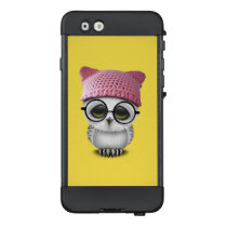 Nerdy Baby Owl Wearing Pussy Hat LifeProof NÜÜD iPhone 6 Case