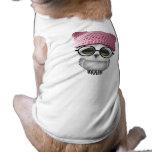 Nerdy Baby Owl Wearing Pussy Hat Shirt