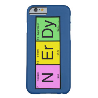 Nerdy Barely There iPhone 6 Case