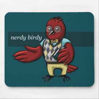 Nerdy Birdy Mouse Pad