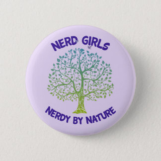 Nerdy By Nature Button