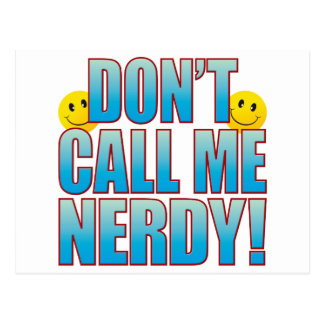 Nerdy Call Life B Postcard