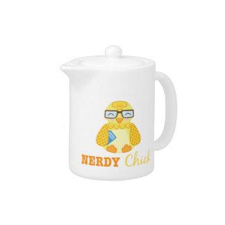 Nerdy Chick Teapot