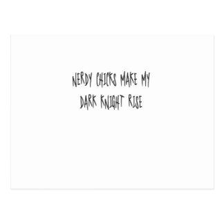 Nerdy Chicks Make My Dark Knight Rise Postcard
