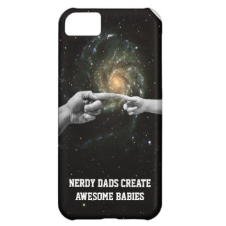 nerdy dads create awesome babies iphone cover case iPhone 5C cover