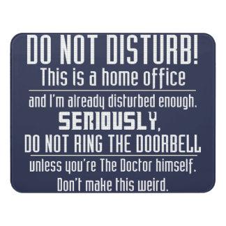 Nerdy Do Not Disturb Sign