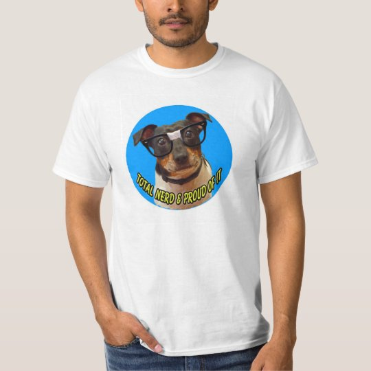 Nerdy Dog Logo shirt