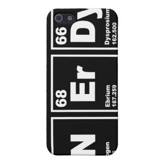 Nerdy Elements Case For iPhone SE/5/5s