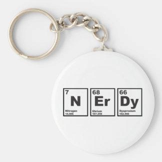 Nerdy Elements Keychain