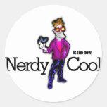 Nerdy es el nuevo se refresca pegatinas
