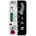 Nerdy Geek STEM Gadget Lab Science Technology Tech Barely There iPhone 6 Plus Case