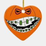 Nerdy Geeky de la mueca malvada de Halloween de la Adorno