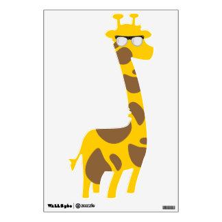 Nerdy Giraffe Room Stickers