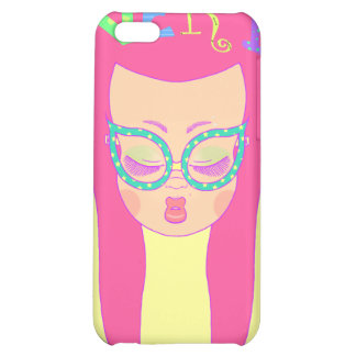 Nerdy Girl Cover For iPhone 5C