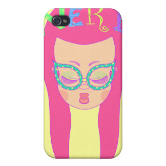 Nerdy Girl iPhone 4/4S Cases