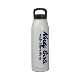 Nerdy Girl Make Better Lovers Water Bottle