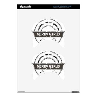 Nerdy Girls Xbox 360 Controller Skins