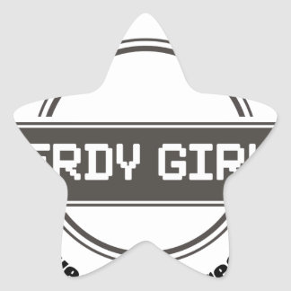 Nerdy Girls Stickers
