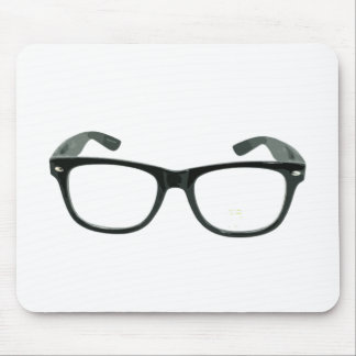 Nerdy Glasses Mousepad