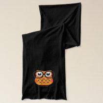 Nerdy Halloween Owl Scarf