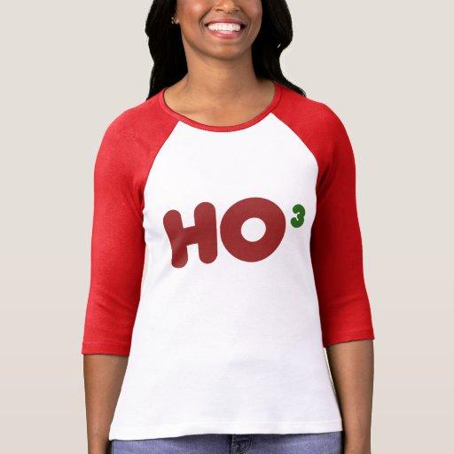 Nerdy HO para Navidad Camisetas