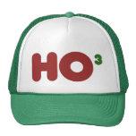 Nerdy HO para Navidad Gorros Bordados