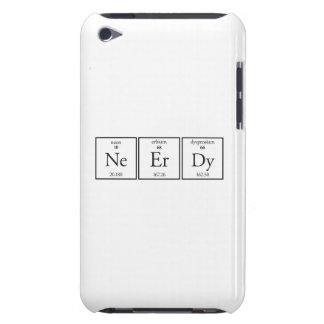 Nerdy iPod Touch Case-Mate Case
