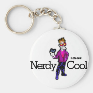 Nerdy is the new cool keychain