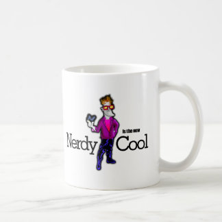 Nerdy is the new cool mugs
