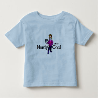 Nerdy is the new cool toddler t-shirt