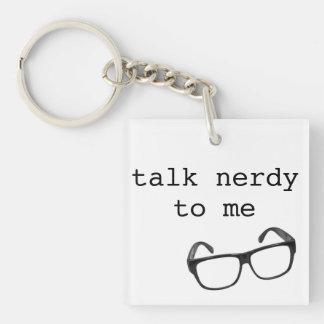 Nerdy Key Chain