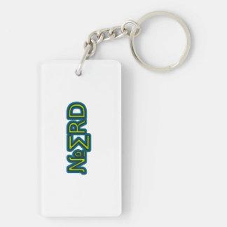 Nerdy keychain