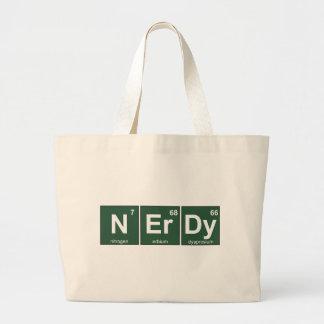 NErDy Large Tote Bag
