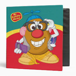 Nerdy Mr. Potato Head Binder