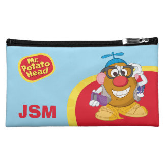 Nerdy Mr. Potato Head Cosmetic Bag