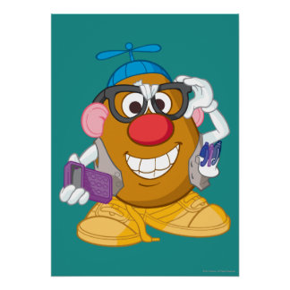 Nerdy Mr. Potato Head Poster