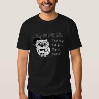 Nerdy Nite-Owl - PB&J T-shirt