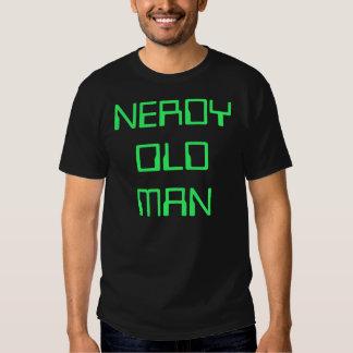 NERDY OLD MAN T-SHIRT