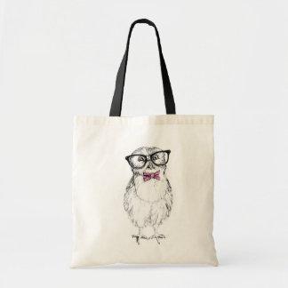 Nerdy Owlet Budget Tote Bag
