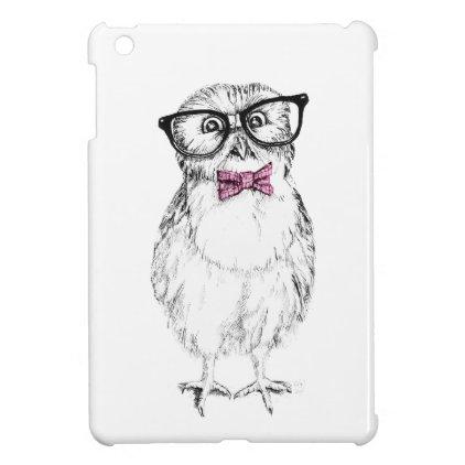 Nerdy Owlet iPad Mini Covers