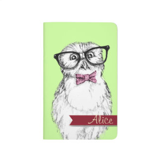 Nerdy owlet periodic & multiplication table journal