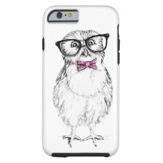 Nerdy owlet small but smart tough iPhone 6 case