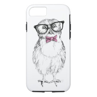 Nerdy owlet small but smart iPhone 8/7 case