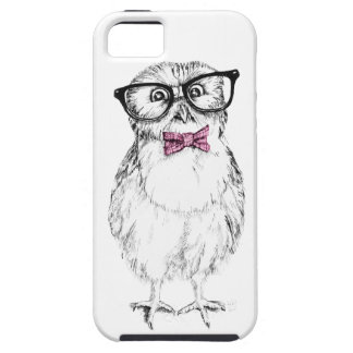 Nerdy owlet small but smart iPhone SE/5/5s case