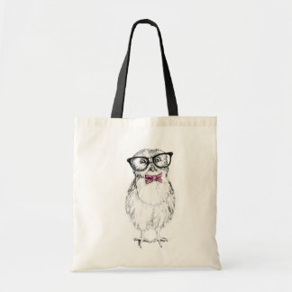 Nerdy Owlet Tote Bag