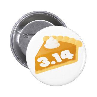 Nerdy Pi Pinback Button